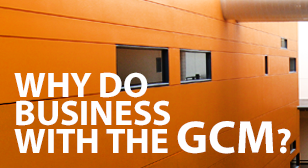 Why do business with the GCM